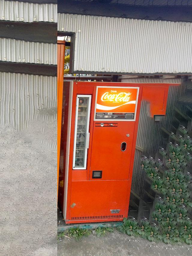 パンの缶詰自販機写真