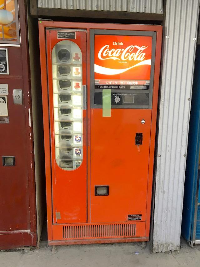 コカコーラ自販機写真
